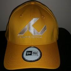 New Era Classic Stretch Fit Gold Hat- White TC