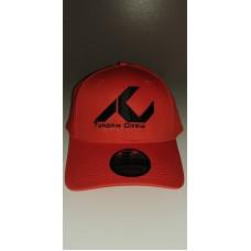 NEW ERA 39 THIRTY Orange Hat with Black TC Logo