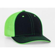 3D Black Neon Green